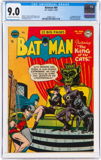 Batman #69 (DC, 1952) CGC VF/NM 9.0 Off-white to white pages