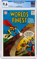 Silver Age (1956-1969):Superhero, World's Finest Comics #90 (DC, 1957) CGC NM+ 9.6 Off-white pages....