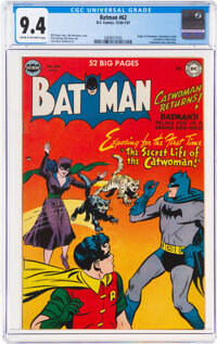 Batman #62 (DC, 1950) CGC NM 9.4 Cream to off-white pages