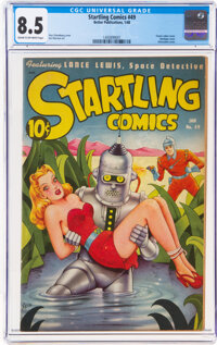 Startling Comics #49 (Better Publications, 1948) CGC VF+ 8.5 Cream to off-white pages