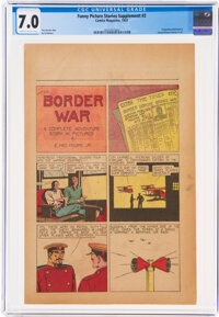 Funny Picture Stories Supplement #2 (Comics Magazine, 1937) CGC FN/VF 7.0 Cream to off-white pages