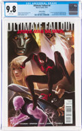 Modern Age (1980-Present):Superhero, Ultimate Fallout #4 Variant Edition (Marvel, 2011) CGC NM/MT 9.8 White pages....