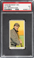 Baseball Cards:Singles (Pre-1930), 1909-11 T206 Sweet Caporal 350/30 Ty Cobb (Bat On Shoulder) PSA EX 5. ...