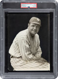 Baseball Collectibles:Photos, 1920 Babe Ruth Original Photograph from Baseball Magazine Archives, PSA/DNA Type 1 - Image Used for 1933 R306 Butter Cream Car...