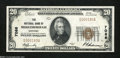 National Bank Notes:Kentucky, Middlesborough, KY - $20 1929 Ty. 1 The NB Ch. # 7086