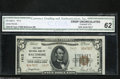 National Bank Notes:Maryland, Baltimore, MD - $5 1929 Ty. 2 The First NB Ch. # 1413