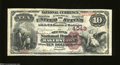 National Bank Notes:Maryland, Hagerstown, MD - $10 1882 Brown Back Fr. 484 The Second ...