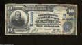 National Bank Notes:Missouri, Kansas City, MO - $10 1902 Plain Back Fr. 628 The ...