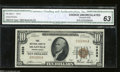 National Bank Notes:Pennsylvania, Meadville, PA - $10 1929 Ty. 1 First NB Ch. # 4938