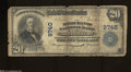 National Bank Notes:West Virginia, Montgomery, WV - $20 1902 Plain Back Fr. 653 The ...