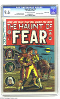 Golden Age (1938-1955):Horror, Haunt of Fear #10 Gaines File pedigree 10/12 (EC, 1951) CGC NM+ 9.6Off-white to white pages. It's hard to imagine a nicer c...