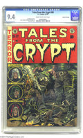 Golden Age (1938-1955):Horror, Tales From the Crypt #30 Gaines File pedigree 3/12 (EC, 1952) CGCNM 9.4 Cream to off-white pages. The eleventh issue of the...