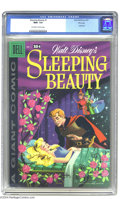 Golden Age (1938-1955):Cartoon Character, Dell Giant Comics - Sleeping Beauty #1 (Dell, 1959) CGC NM+ 9.6Off-white to white pages. This issue features one of the mos...