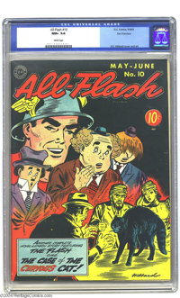 All-Flash #10 San Francisco pedigree (DC, 1943) CGC NM+ 9.6 White pages. If you've wondered why the San Francisco collec...