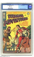Golden Age (1938-1955):Science Fiction, Strange Adventures #19 (DC, 1952) CGC NM+ 9.6 Off-white to whitepages. It's not a misprint, this amazing copy from 1952 has...