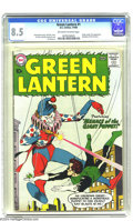 Silver Age (1956-1969):Superhero, Green Lantern #1 (DC, 1960) CGC VF+ 8.5 Off-white to white pages. DC was certainly on a roll back in 1960, when this Silver ...