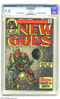 Bronze Age (1970-1979):Superhero, The New Gods #1 (DC, 1971) CGC NM/MT 9.8 White pages. You won'tfind a nicer copy of the flagship title in Jack Kirby's epic...