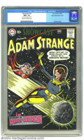 Golden Age (1938-1955):Science Fiction, Showcase #19 Adam Strange - Double Cover - Big Apple pedigree (DC,1959) CGC NM+ 9.6 Cream to off-white pages. This book wou...