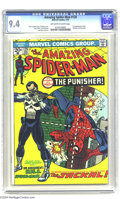 Bronze Age (1970-1979):Superhero, The Amazing Spider-Man #129 (Marvel, 1974) CGC NM 9.4 Off-white towhite pages. The most important Amazing issue of the ...