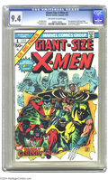 Bronze Age (1970-1979):Superhero, Giant-Size X-Men #1 (Marvel, 1975) CGC NM 9.4 Off-white to whitepages. Ranked as the second-most valuable Bronze Age book b...