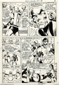 Original Comic Art:Panel Pages, Neal Adams and Dick Giordano - Green Lantern #80, page 7 OriginalArt (DC, 1970). As the Silver Age of Comics became the Bro...