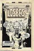 Original Comic Art:Covers, Neal Adams - Our Fighting Forces #147 Cover Original Art (DC,1974). The Losers, Gunner, Captain Storm, Sarge, and Johnny Cl...