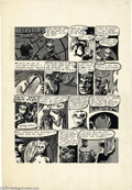 """Original Comic Art:Panel Pages, Richard Corben - """"Monsters Rule"""" Part 4 One-page Story Original Art(1968). Here's a rare example of art from a master of Ho..."""