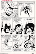 Original Comic Art:Panel Pages, Steve Ditko and Paul Reinman - Tales of Suspense #49, page 16Original Art (Marvel, 1964). Fans often forget that it was Ste...