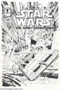 Original Comic Art:Covers, Rick Hoberg - Classic Star Wars The Early Adventures #4 CoverOriginal Art (Dark Horse, 1994). In a galaxy a long time ago, ...