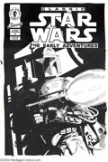 Original Comic Art:Covers, Rick Hoberg - Classic Star Wars The Early Adventures #9 UnpublishedCover Original Art (Dark Horse, 1995). Look out rebels, ...