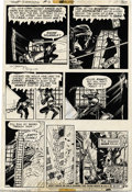 Original Comic Art:Panel Pages, Michael W. Kaluta - The Shadow #6, page 20 Original Art (DC, 1974).Even a Ninja proves no match for the mysterious Shadow, ...