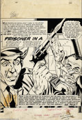 Original Comic Art:Splash Pages, Gil Kane and Murphy Anderson - Showcase #36 the Atom Splash Page Original Art (DC, 1961). Gil Kane and Murphy Anderson, both...