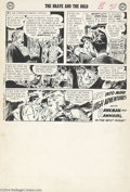 Original Comic Art:Panel Pages, Joe Kubert - Brave and Bold #34, page 25 First Silver Age HawkmanOriginal Art (DC, 1961) The first Silver Age Hawkman story...