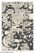 Original Comic Art:Panel Pages, Jim Starlin - Warlock #13, page 16 Original Art (Marvel, 1976). Inthe tradition of Jack Kirby and Steve Ditko, Jim Starlin ...