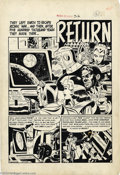 Original Comic Art:Splash Pages, Wally Wood - Weird Science #5 Splash Page 1 Original Art (EC,1951). A cautionary tale about the evils of war and conflict, ...