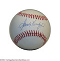 Autographs:Baseballs, SANDY KOUFAX SIGNED BASEBALL. Dodger Hall of Fame standout ...