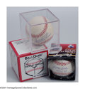 Autographs:Baseballs, Baseball Autograph LARRY DOBY AND MINNIE MINOSO SIGNED ... (2items)