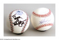 Autographs:Baseballs, MCGWIRE & GRIFFEY SIGNED BASEBALLS. Two of Baseball's 500 ...(2 items)