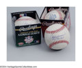 Autographs:Baseballs, Baseball Autograph ANDRE DAWSON (2) AND ROGER CLEMENS 3 CT. ... (3items)