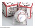 Autographs:Baseballs, 3 3 CT. 1970s - 1980s SIGNED BASEBALLS. Three star players ... (3 )