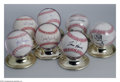 Autographs:Baseballs, Baseball Autograph 7 CT. CHICAGO WHITE SOX SIGNED BASEBALLS ... (7items)