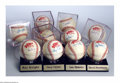Autographs:Baseballs, 10 CT. 1986 WORLD SERIES SINGLE SIGNED BASEBALLS PSA. The ... (10items)