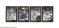Autographs:Others, Baseball Autograph 8 CT. SIGNED BASEBALL CARDS, PHOTOS, ...