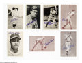 Autographs:Post Cards, Baseball Autograph 7 CT. SIGNED EXHIBIT & POSTCARDS. A ...