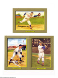 Autographs:Post Cards, Baseball Autograph 3 CT. BOBBY DOERR, BILLY HERMAN, GEORGE ...