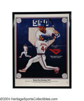 "Autographs:Others, REGGIE JACKSON SIGNED LIMITED EDITION POSTER. ""Mr. October""..."