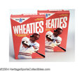 Autographs:Others, PETE ROSE SIGNED WHEATIES BOXES. Two (2) Breakfast of ... (2 items)