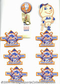 Baseball Collectibles:Others, 1969 CITGO NEW YORK METS, N.Y. NEWS METS PORTFOLIO OF STARS, ...