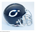 Football Collectibles:Photos, Football Autograph DICK BUTKUS SIGNED MINI FOOTBALL HELMET.