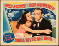 """You'll Never Get Rich (Columbia, 1941). Very Fine. Lobby Card (11"""" X 14""""). Musical"""